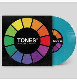 """Woodwurk Records Tones 1.0 by Kristian Gjerstad 7"""" Scratch Record (Turquoise)"""