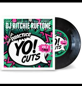 "Turntable Training Wax Ritchie Ruftone Practice Yo! Cuts Vol. 9 7"" Scratch Record"