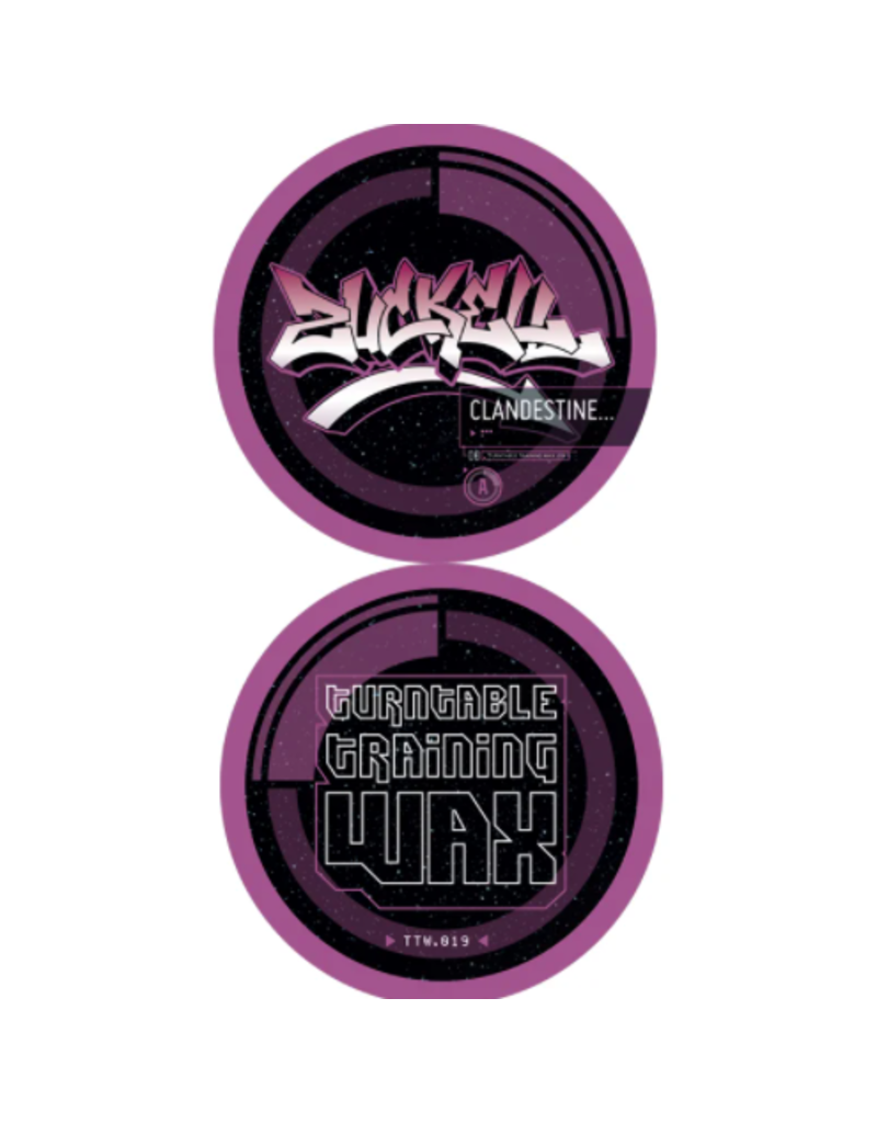 "Turntable Training Wax Zuckell Clandestine 12"" Juggle & Scratch Record"