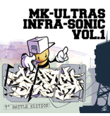 "Zenith Records MK Ultras Infra-Sonic Vol. 1 - Zenith Records 7"" Scratch Record"