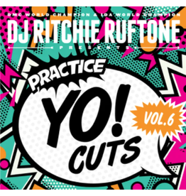 "Turntable Training Wax Ritchie Ruftone Practice Yo! Cuts Vol. 6 7"" Scratch Record"