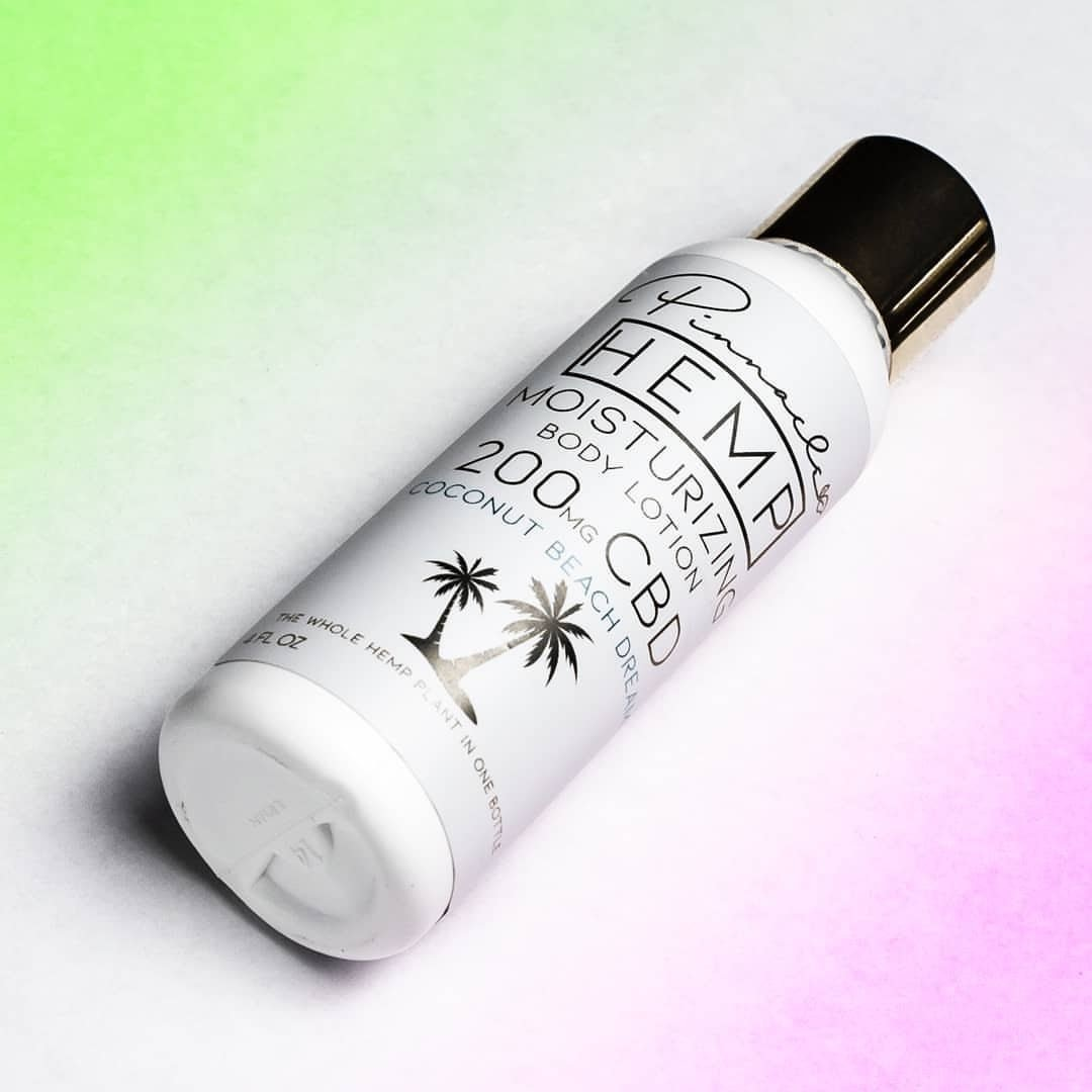 Pinnacle 200mg CBD Lotion Coconut Dream