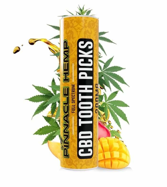 Pinnacle Full Spectrum CBD Toothpicks 200mg 20pcs Mint