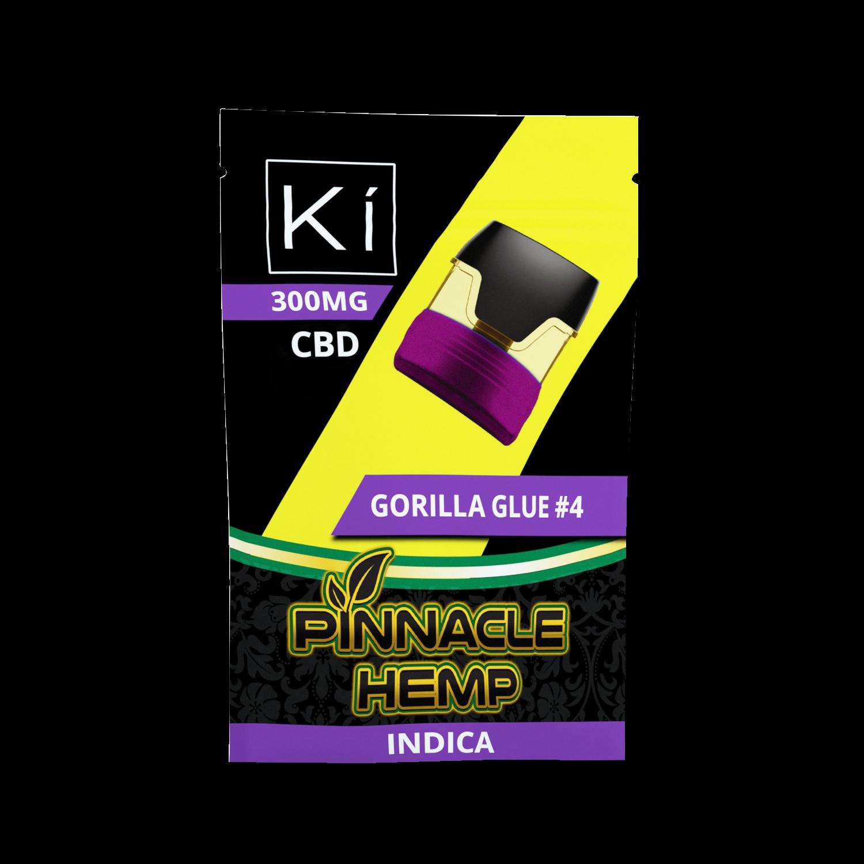 Pinnacle Ki Pod Replacement Gorilla Glue #4 300mg