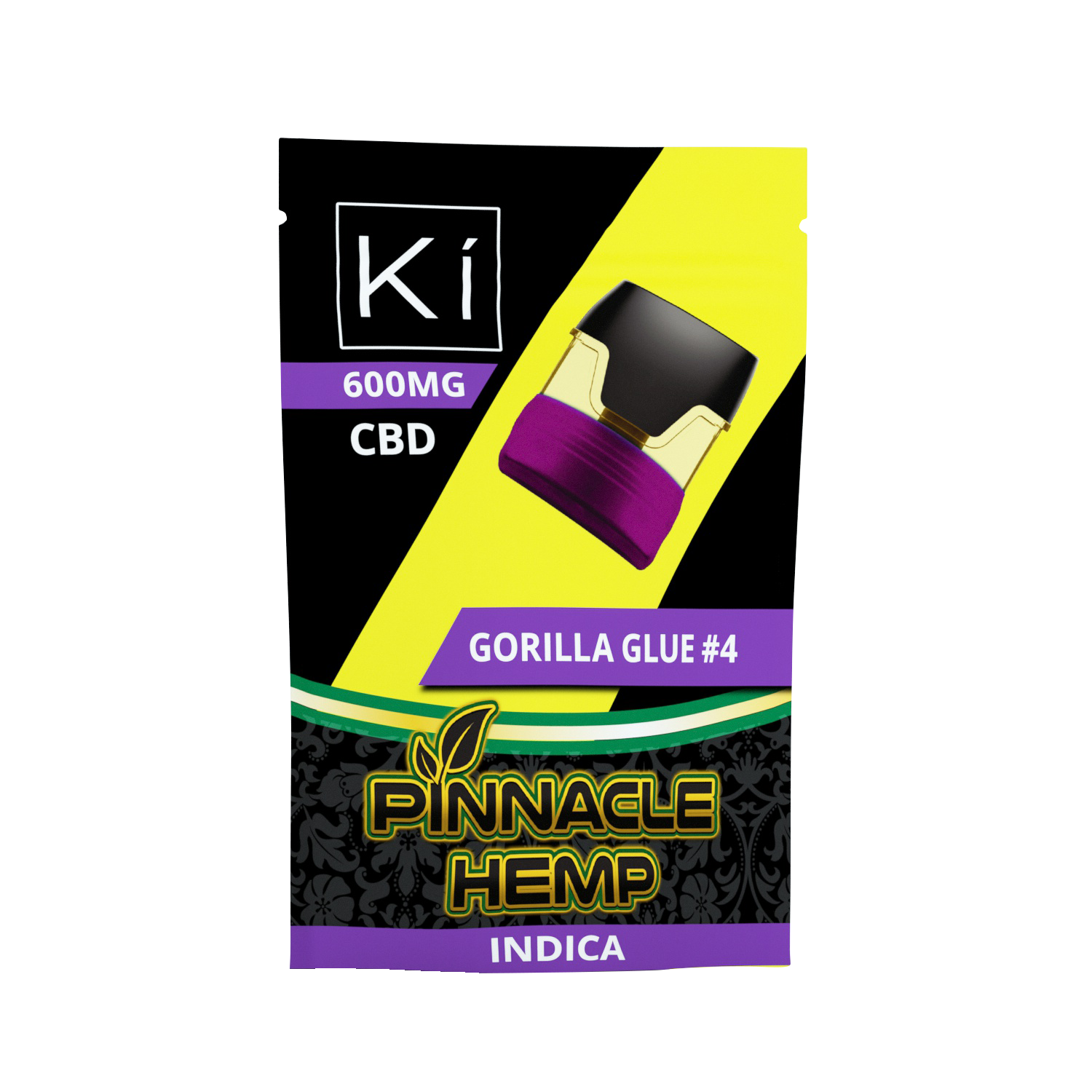 Pinnacle Ki Pod Replacement Gorilla Glue #4 600mg