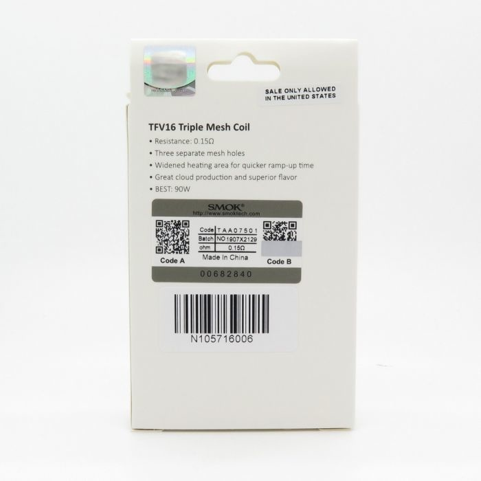 Smok TFV16 Coils 3pk