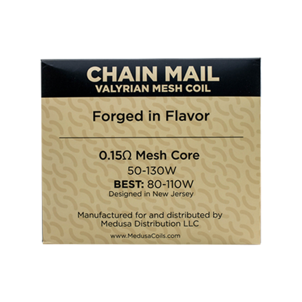 Medusa Valyrian Mesh Coils - Chain Mail