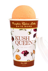 Kush Queen CBD Bath Bomb Pumpkin Spice Latte 25mg