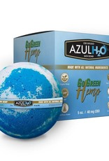 Go Green Hemp CBD Bath Bomb Azul H2O