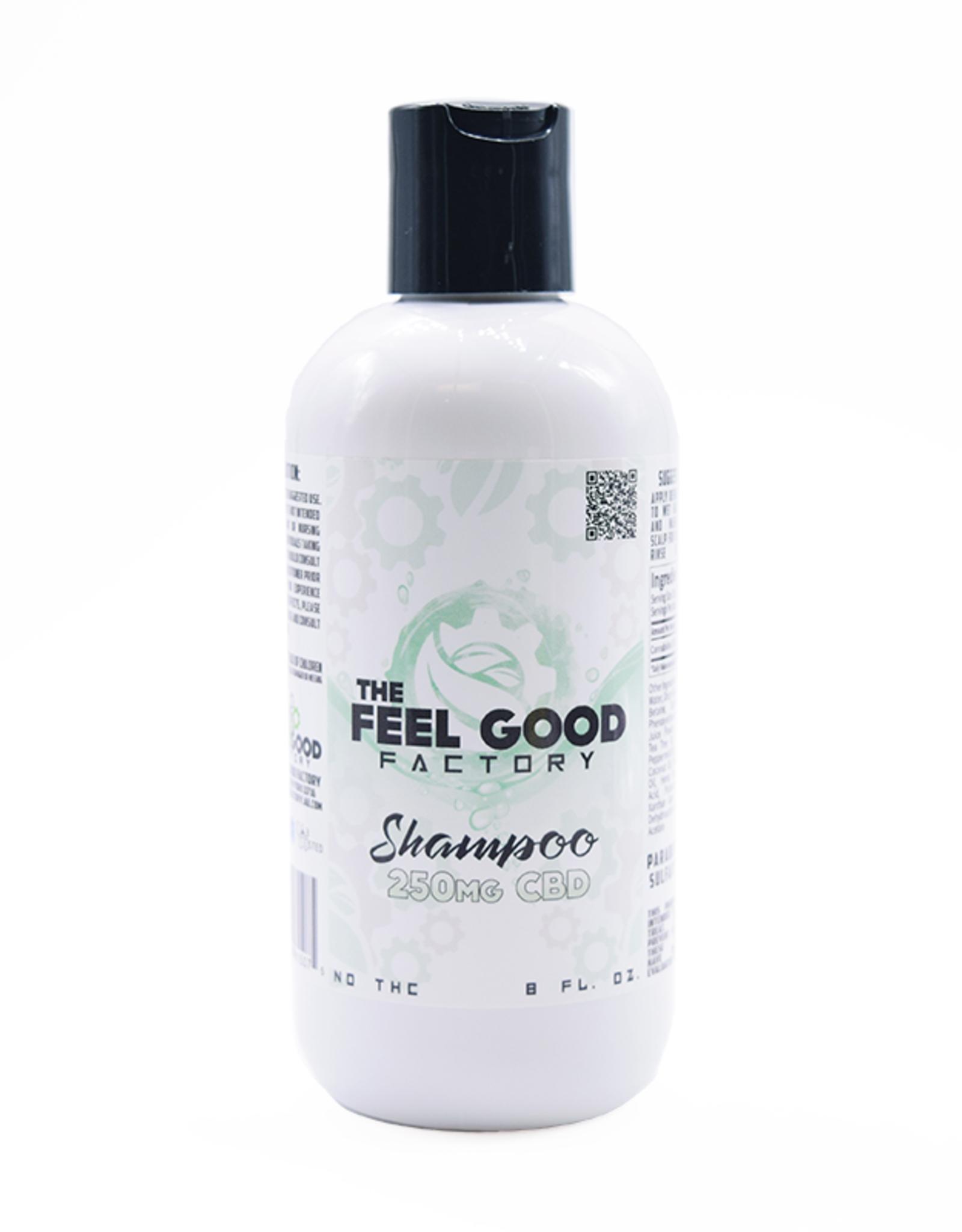 The Feel Good Factory CBD Shampoo 250mg/8oz.