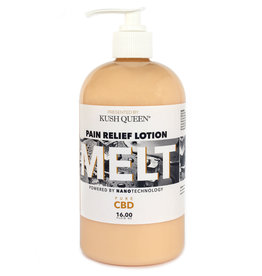 Kush Queen Melt CBD Pain Relief Lotion 800mg 16oz