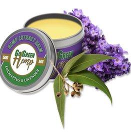 Go Green Hemp CBD Balm Eucalyptus and Lavender Salve 1000mg
