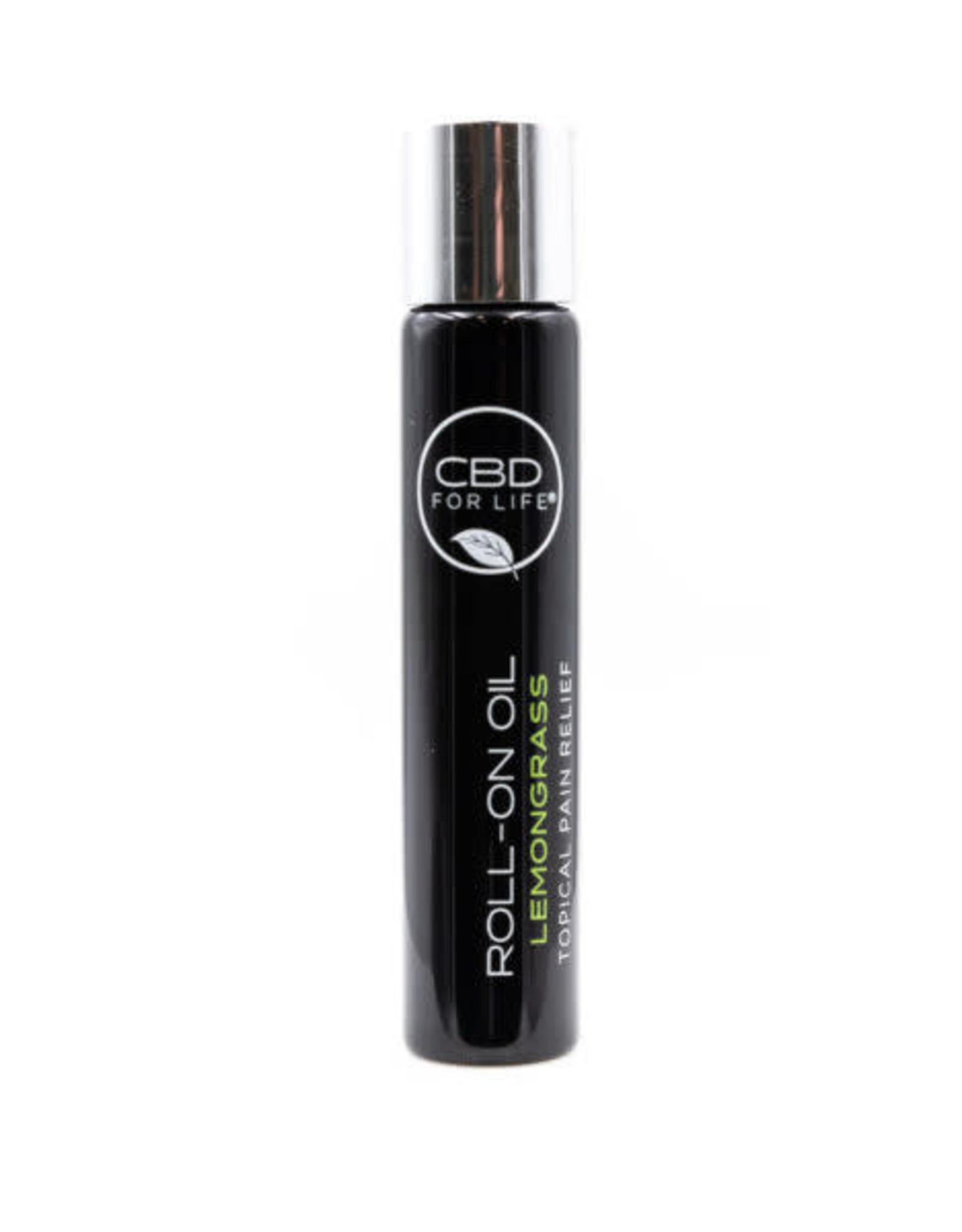 CBD For Life Roll-On CBD Oil Lemongrass Pain Cream