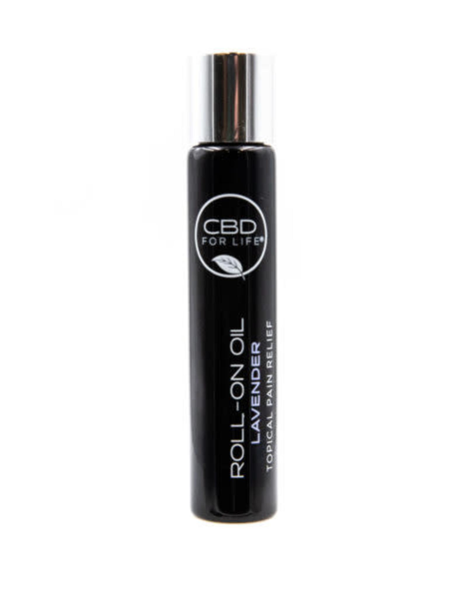 CBD For Life Roll-On CBD Oil Lavender Pain Cream