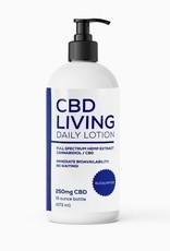 CBD Living Lavender CBD Daily Lotion 250mg 16oz