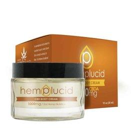 Hemplucid Whole Plant Active CBDA Body Cream 1000mg 1oz