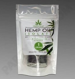 Green Leaf Hemp Extract Oil Isolate Crystalline 1000mg 1gm by Green Leaf