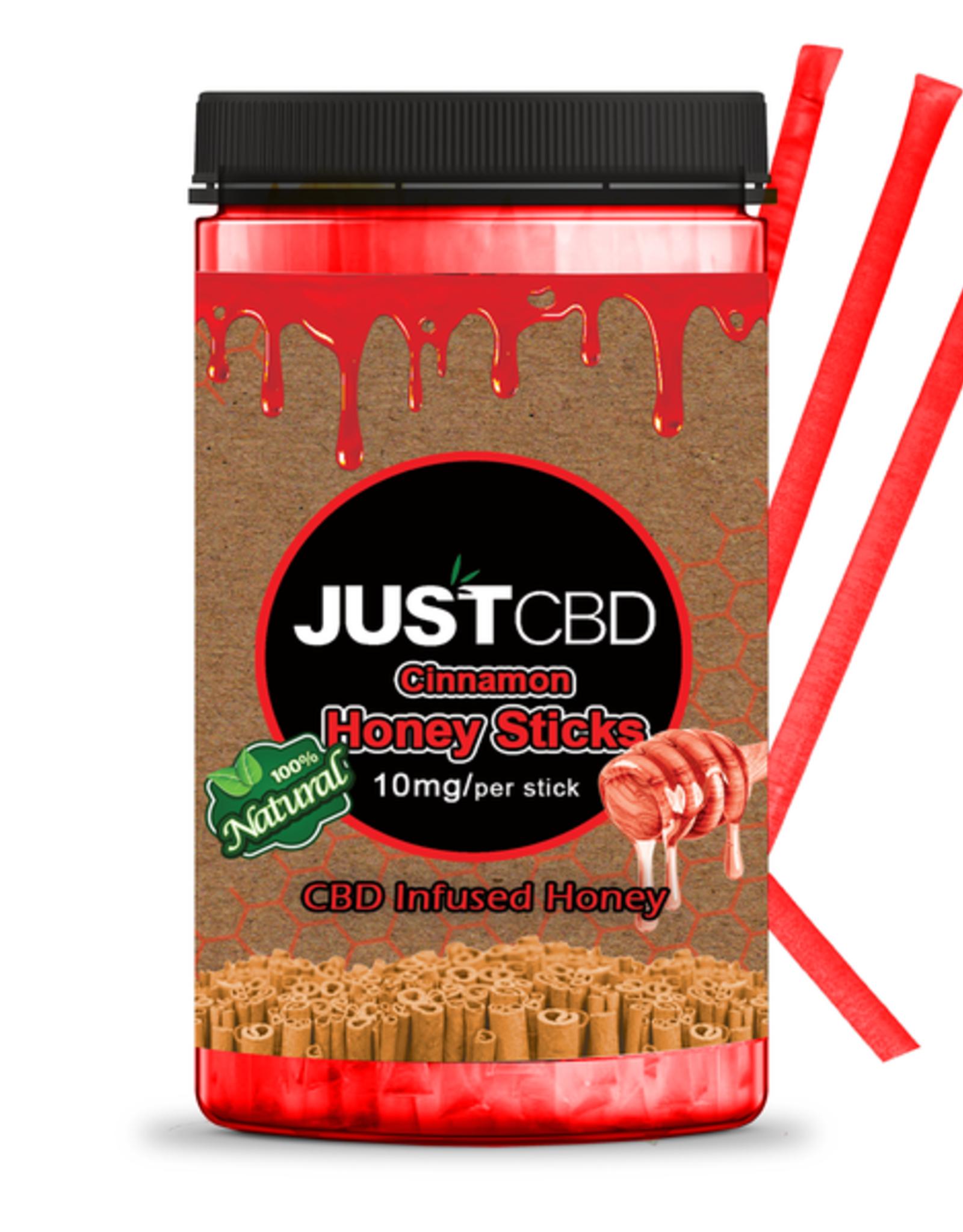 Just CBD Isolate CBD Cinnamon Honey Stick, Single 10mg