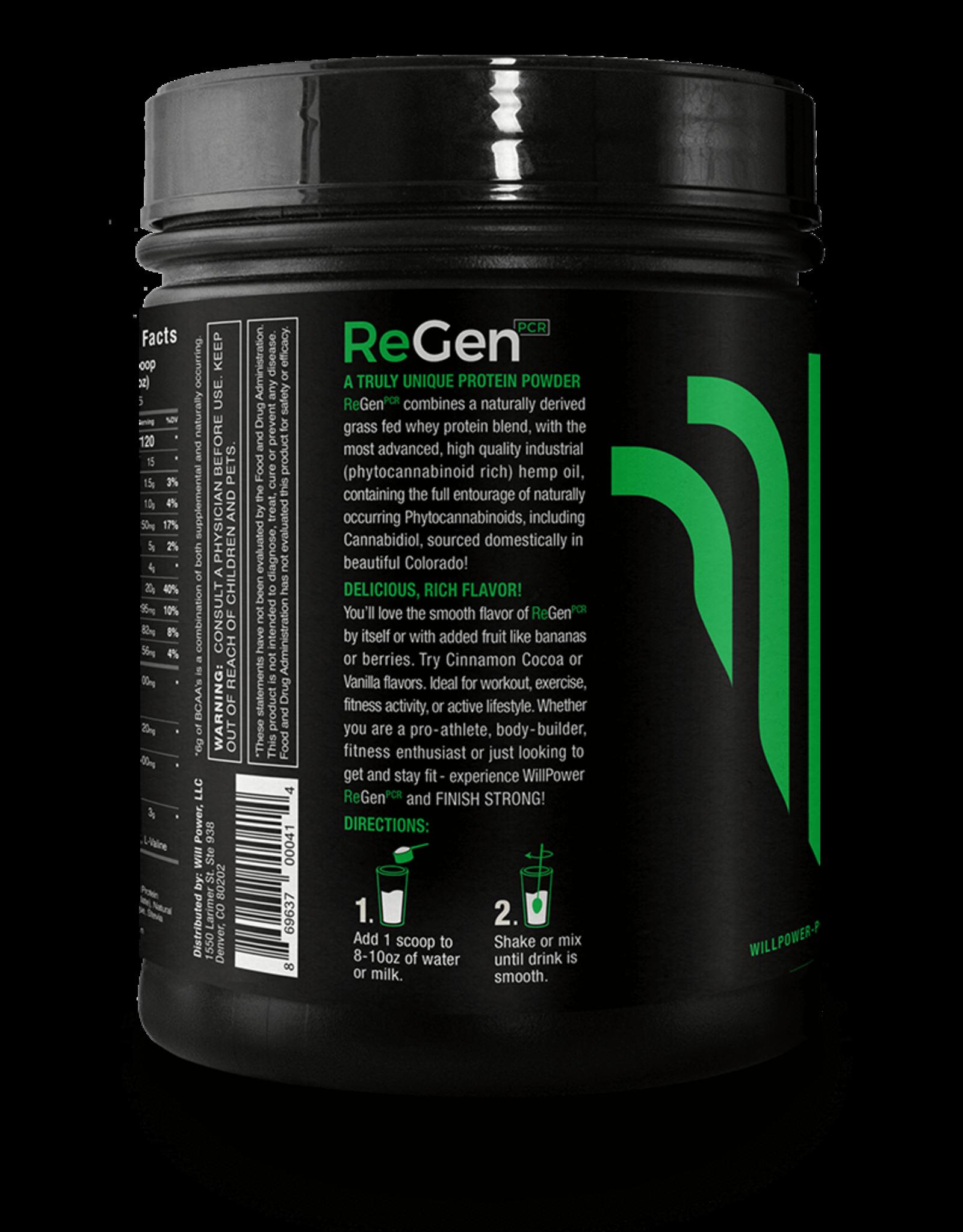ReGen CBD Whey Protein ReGenPCR, Cinnamon Cocoa 480G/1.06LBS