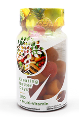 Creating Better Days CBD + Multi Vitamin 300mg 30ct Gummies