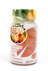 Creating Better Days CBD+Vitamin C 300mg 30ct Gummies