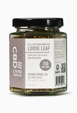 CBD Living Full Spectrum Coconut Herbal Tea 150mg/7.5mg