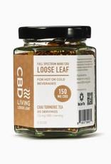 CBD Living Full Spectrum CBD Chai Turmeric Tea 150mg/7.5mg