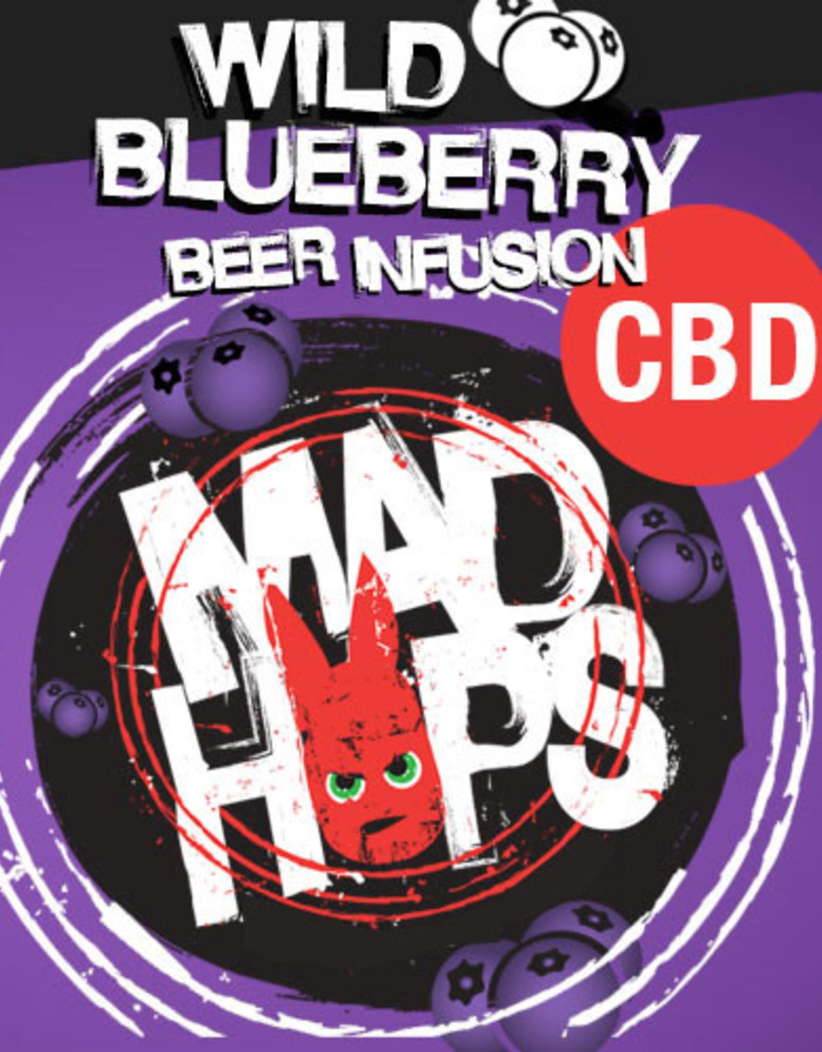 Mad Hops CBD Beer Enhancer Flavoring Wild Blueberry