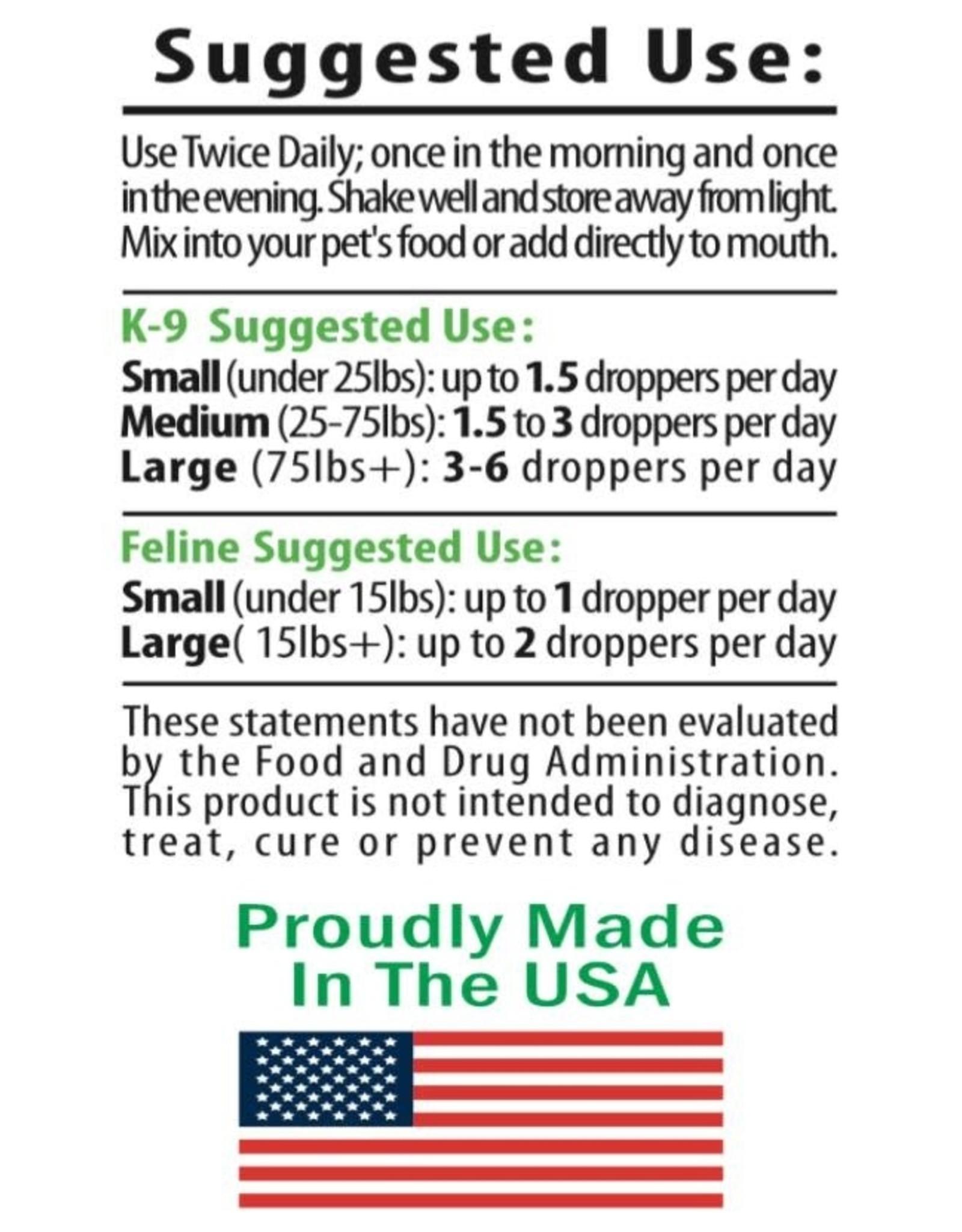 Go Green Hemp Dog and Cat CBD Tincture Oil Drops 250mg