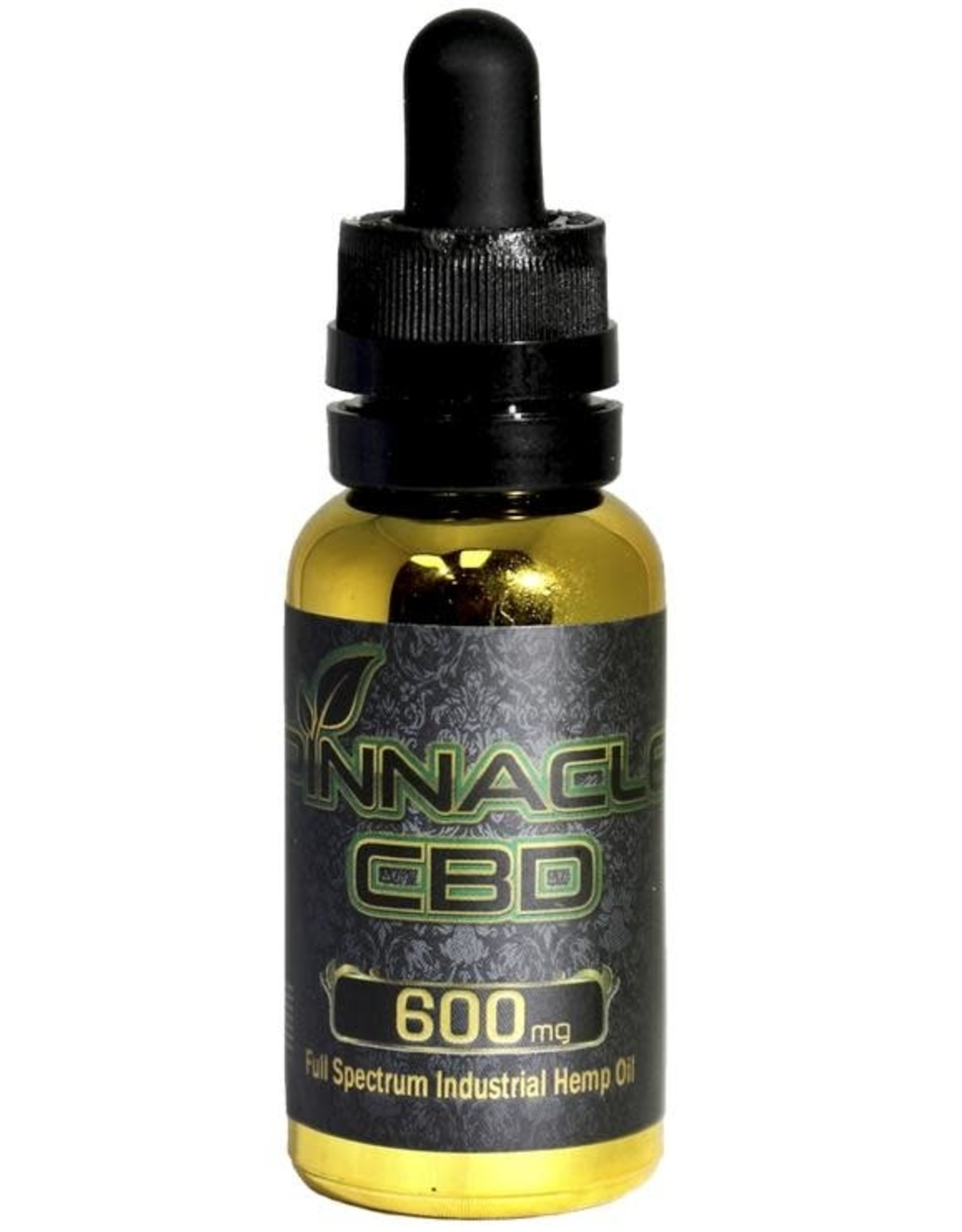 Pinnacle Hemp Full Spectrum CBD Oil Tincture All In One 600mg