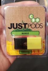Just CBD Just Pods Juul Compatible 100mg Hemp Pod Mango by Just
