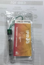 CBD PRO'S Vape Cartridge Raspberry Lemonade 2500mg/83.33 1ml by CBD Pro's