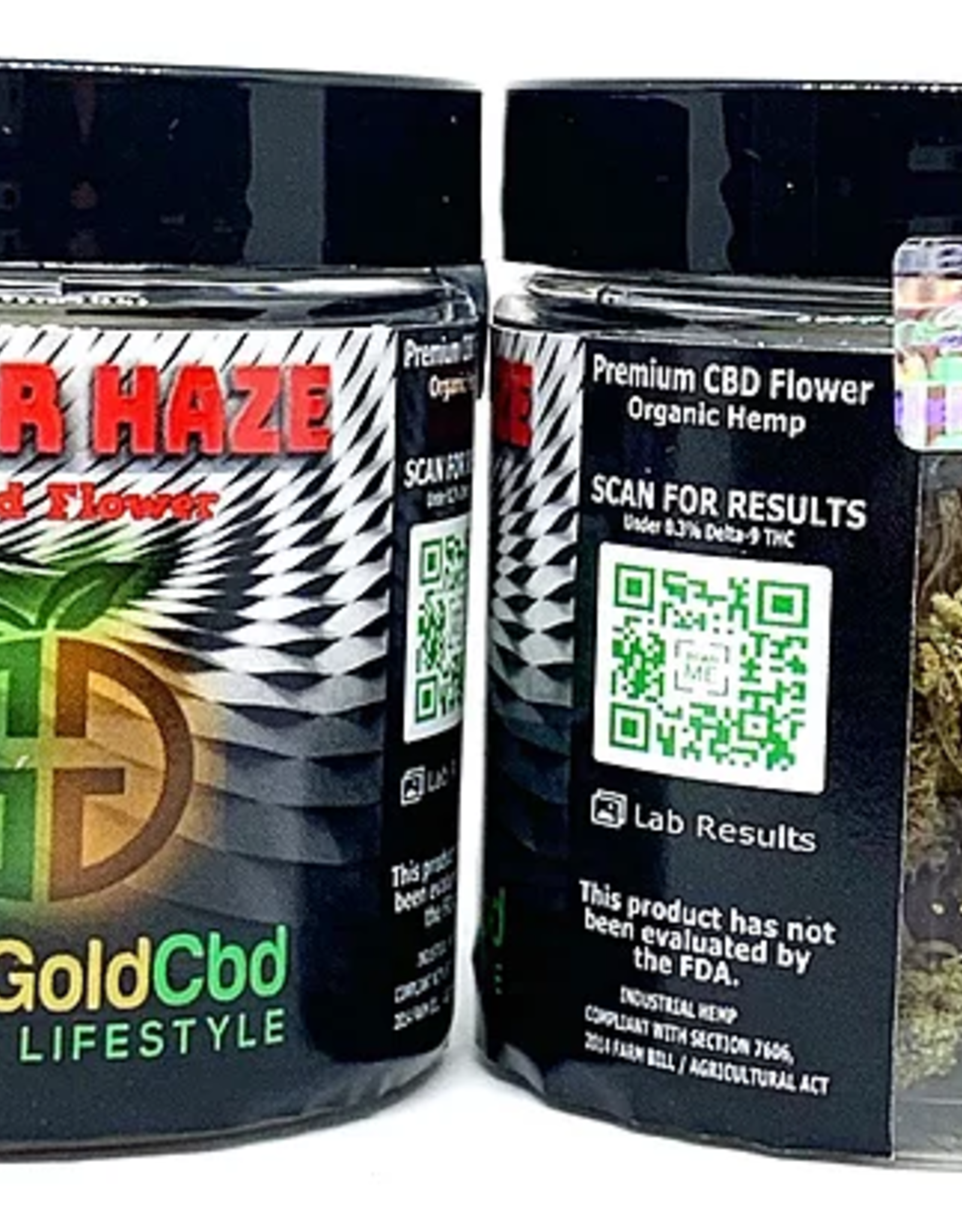Green Gold CBD CBD Flower Suver Haze, 7g 18.9% CBD