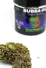 Green Gold CBD CBD Flower Bubba OG, 7g 22.3% CBD