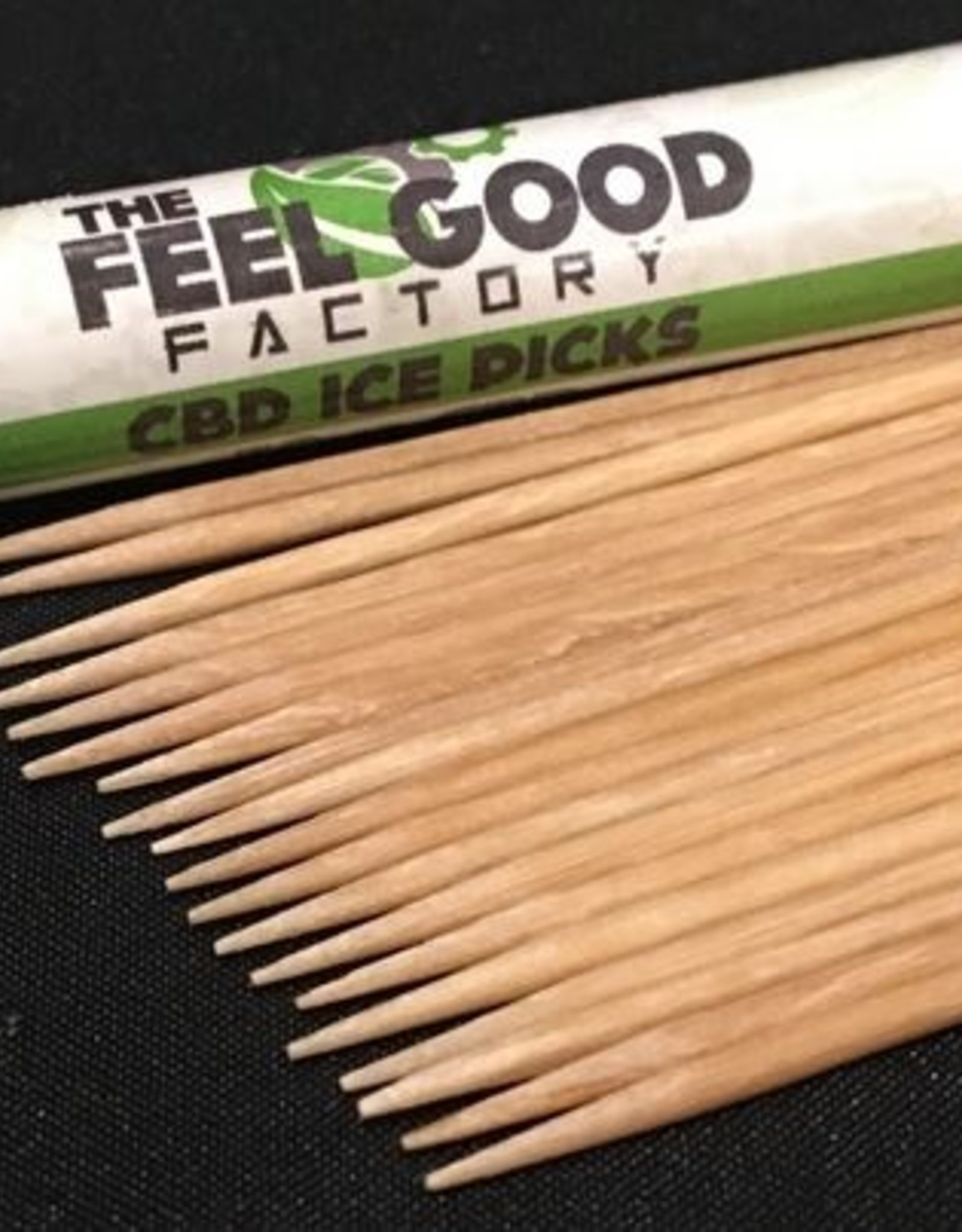 The Feel Good Factory CBD Iced Flavor Tooth Picks 20pcs 50mg/2.5mg each