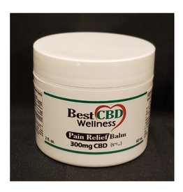 Best CBD Wellness Isolate CBD Pain Relief Balm 300mg 2oz