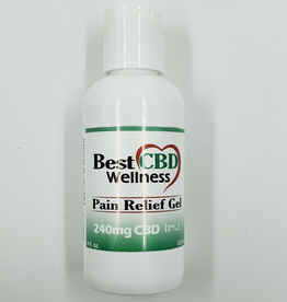 Best CBD Wellness CBD Pain Relief Gel 240mg 4oz