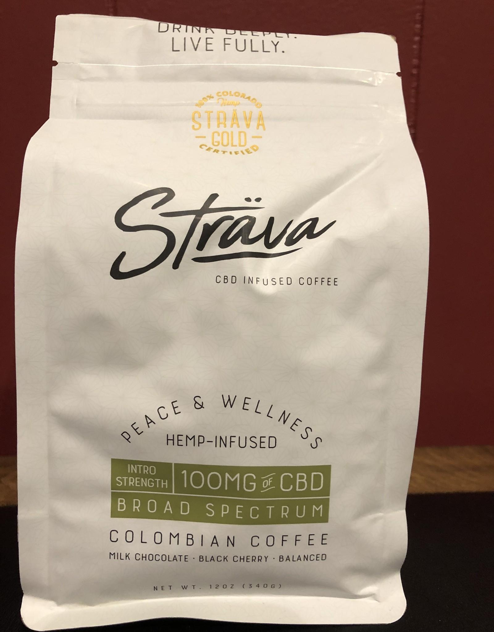 Strava Hemp Infused Coffee - Intro Strength 100mg/bag, 4mg/serving