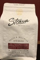 Strava Hemp Infused Coffee - Intro Strength DECAF 100mg/bag, 4mg/serving