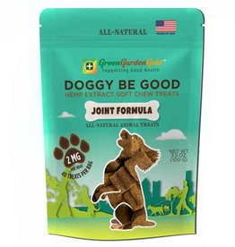 Green Garden Gold CBD Doggy Be Good Soft Chew Treats, w/Joint Formula 80mg/2mg/40pc