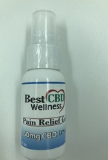 Best CBD Wellness Isolate CBD Pain Relief Gel 60mg 1oz