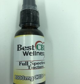Best CBD Wellness Full Spectrum CBD Oil Tincture Natural 2000mg
