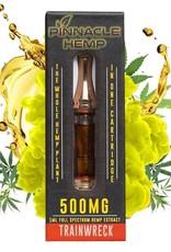 Pinnacle Hemp Full Spectrum CBD Train Wreck Gold Vape Cartridge 500mg 1ml