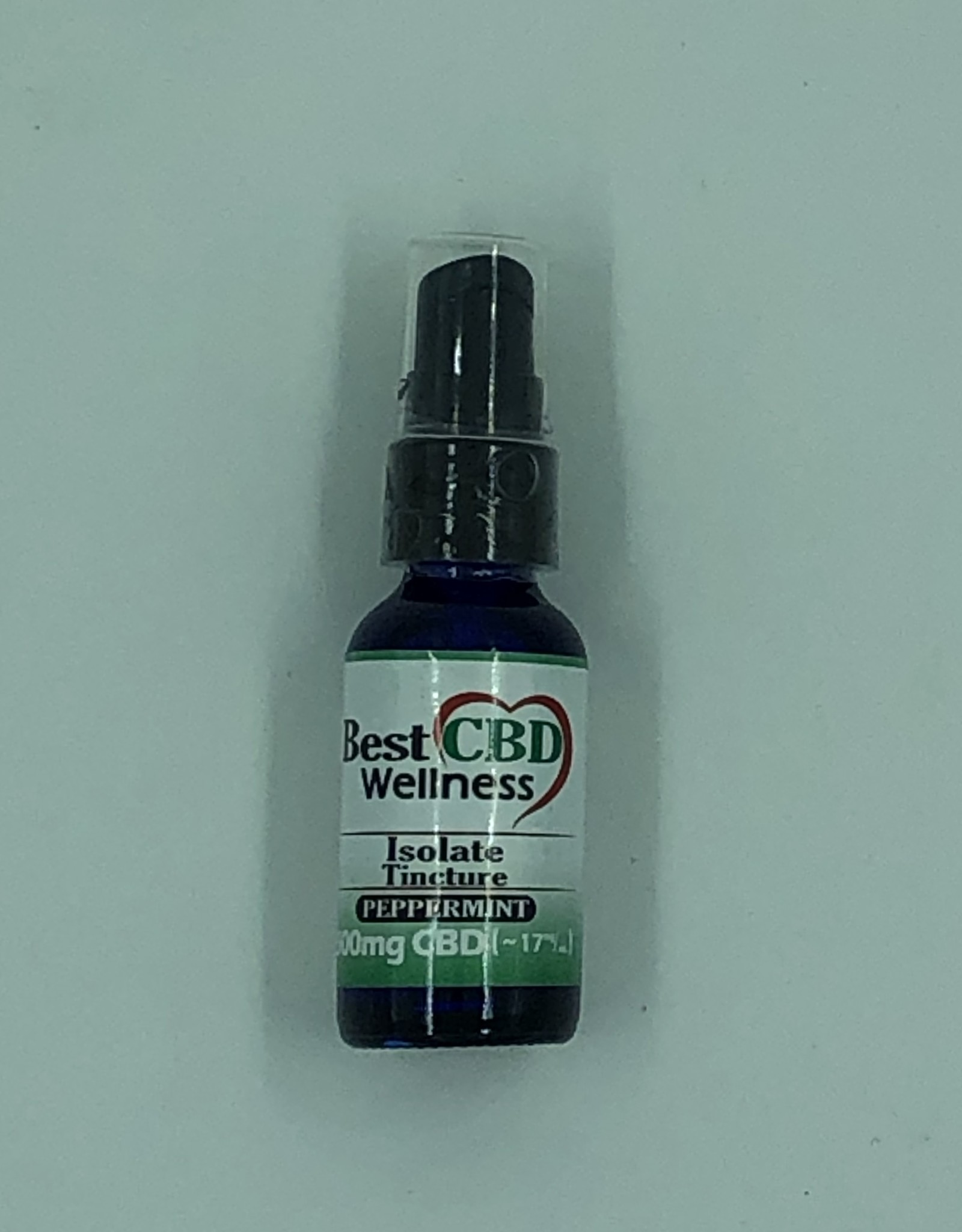 Best CBD Wellness Isolate CBD Oil Tincture 500mg Peppermint