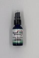 Best CBD Wellness Broad Spectrum CBD Oil Tincture 1500mg Peppermint 30ml