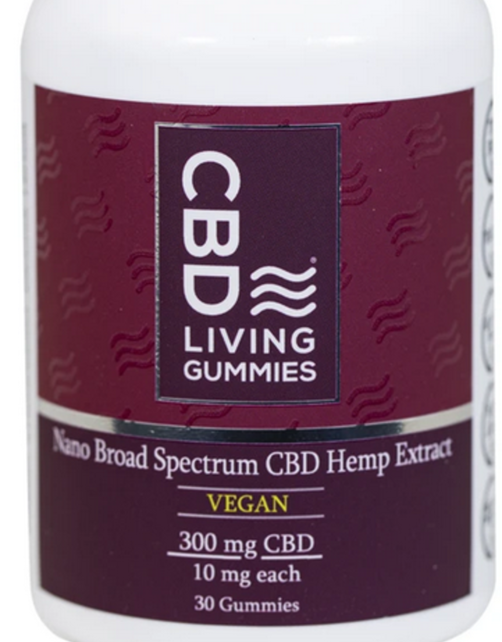 CBD Living CBD  Vegan Gummies 300mg by CBD Living
