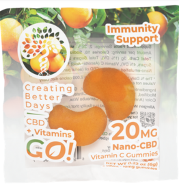 Creating Better Days Go 2Pk VitaGummies CBD + Vitamin C Gummies
