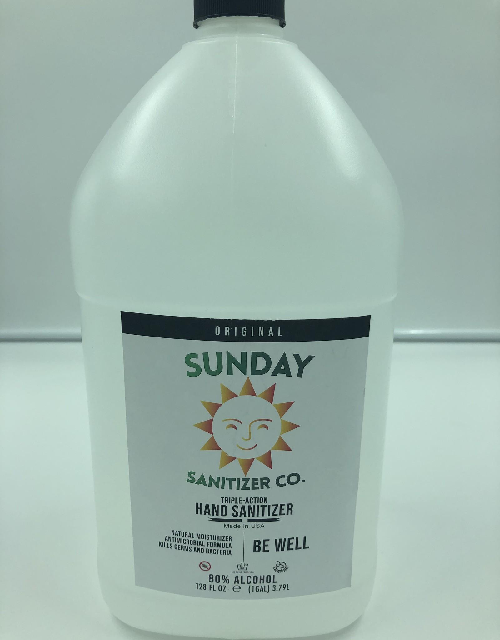 Sunday Sanitizer Co Hand Sanitizer 1 Gallon by Sunday Sanitizer