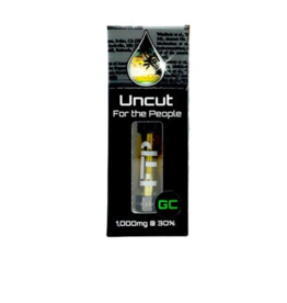 CBD For The People Full Spectrum Green Cush Uncut Wax Cartridge, 300mg, Sativa X1 by For The People