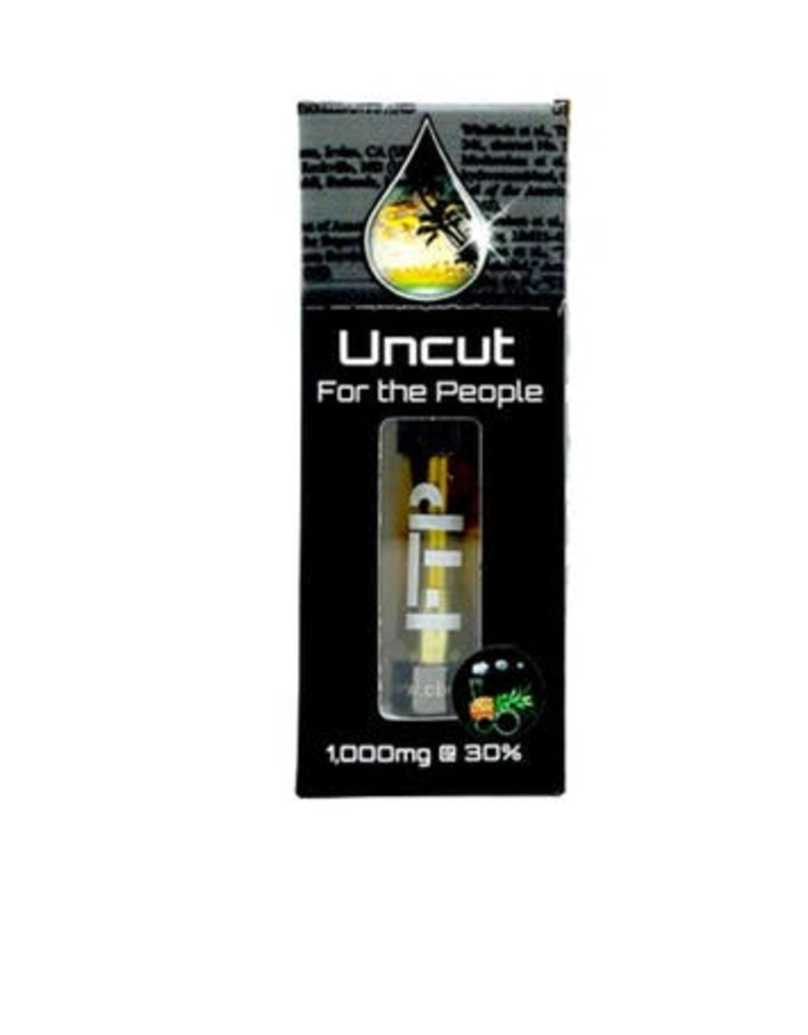 CBD For The People Full Spectrum Pineapple Express Uncut Wax Cartridge, 300mg,  Sativa X1 by For The People